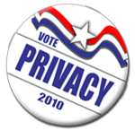 Privacy '10 button